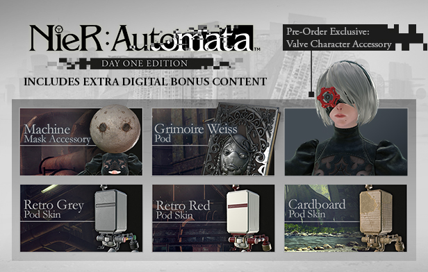 Day 1 Editions Nier: Automata