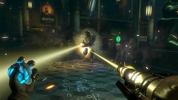 Скриншот №1 к BioShock 2 Minervas Den Remastered