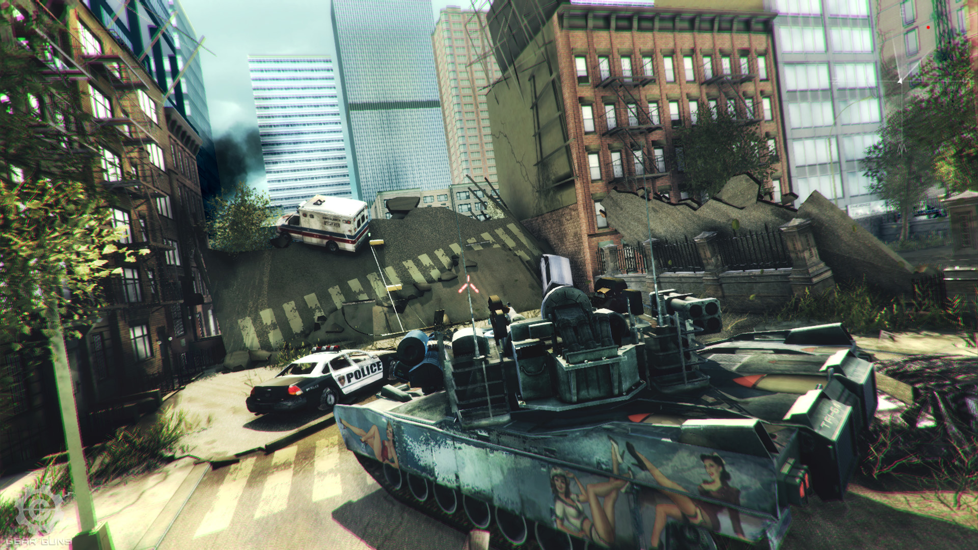 GEARGUNS - Tank offensive Screenshot 1
