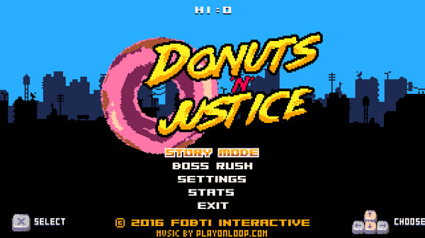 Скриншот №1 к DonutsnJustice