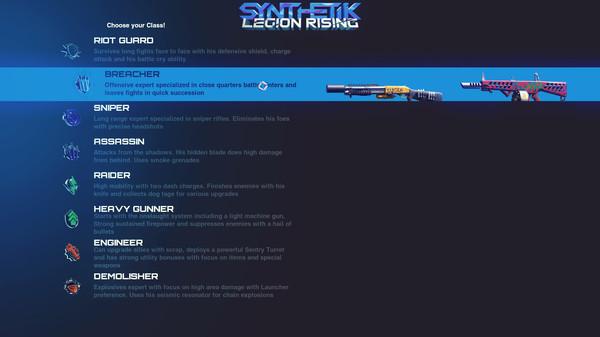 Скриншот №7 к SYNTHETIK Legion Rising