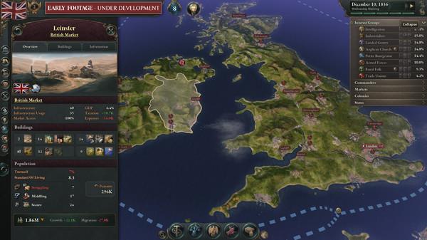 Victoria 3 скриншот