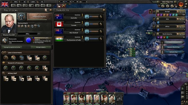 Скриншот №1 к Expansion - Hearts of Iron IV Together for Victory