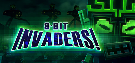 8-Bit Invaders! Cover Image