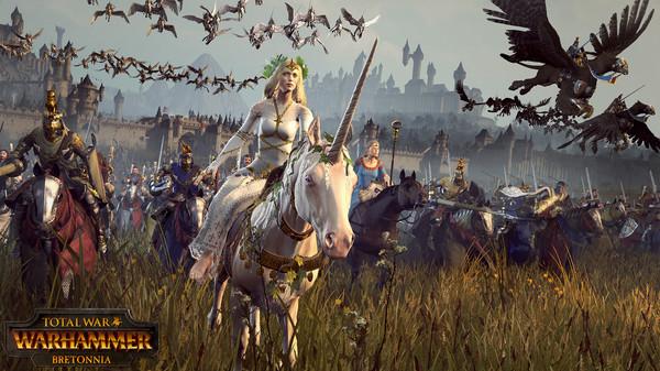 Скриншот №3 к Total War WARHAMMER - Bretonnia