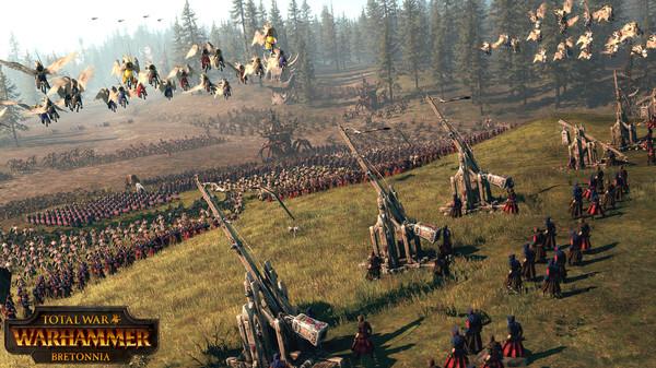 Скриншот №2 к Total War WARHAMMER - Bretonnia