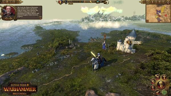 Скриншот №17 к Total War WARHAMMER - Bretonnia