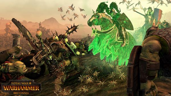 Скриншот №4 к Total War WARHAMMER - Bretonnia