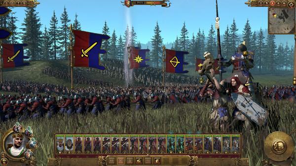 Скриншот №6 к Total War WARHAMMER - Bretonnia