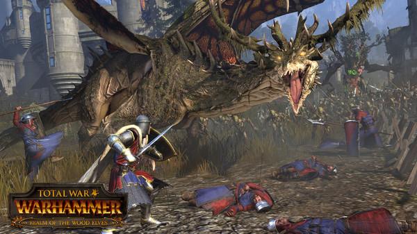 Скриншот №3 к Total War WARHAMMER - Realm of The Wood Elves