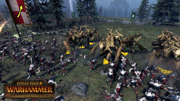 Скриншот №8 к Total War WARHAMMER - Realm of The Wood Elves
