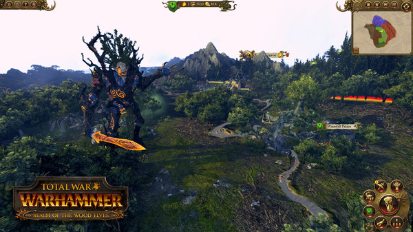 Скриншот №5 к Total War WARHAMMER - Realm of The Wood Elves