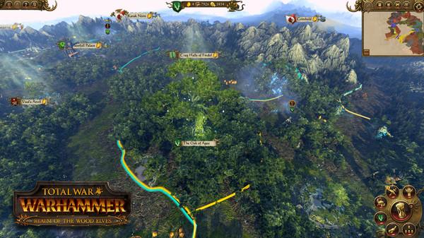 Скриншот №6 к Total War WARHAMMER - Realm of The Wood Elves