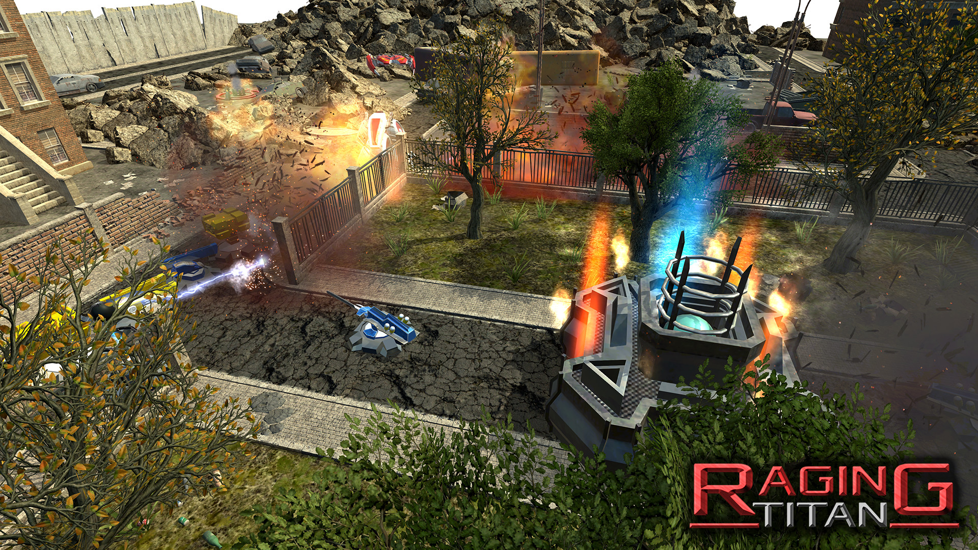 Raging Titan Screenshot 1
