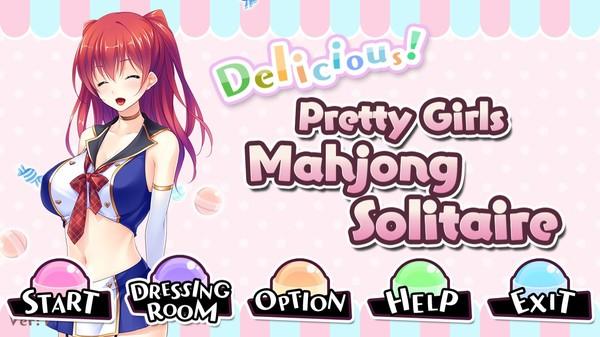 Delicious! Pretty Girls Mahjong Solitaire screenshot