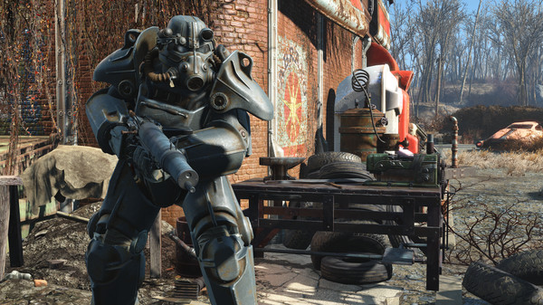 Скриншот №1 к Fallout 4 - High Resolution Texture Pack