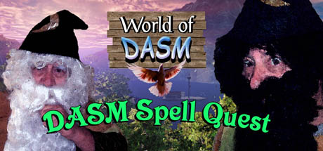 World of DASM, DASM Spell Quest Cover Image