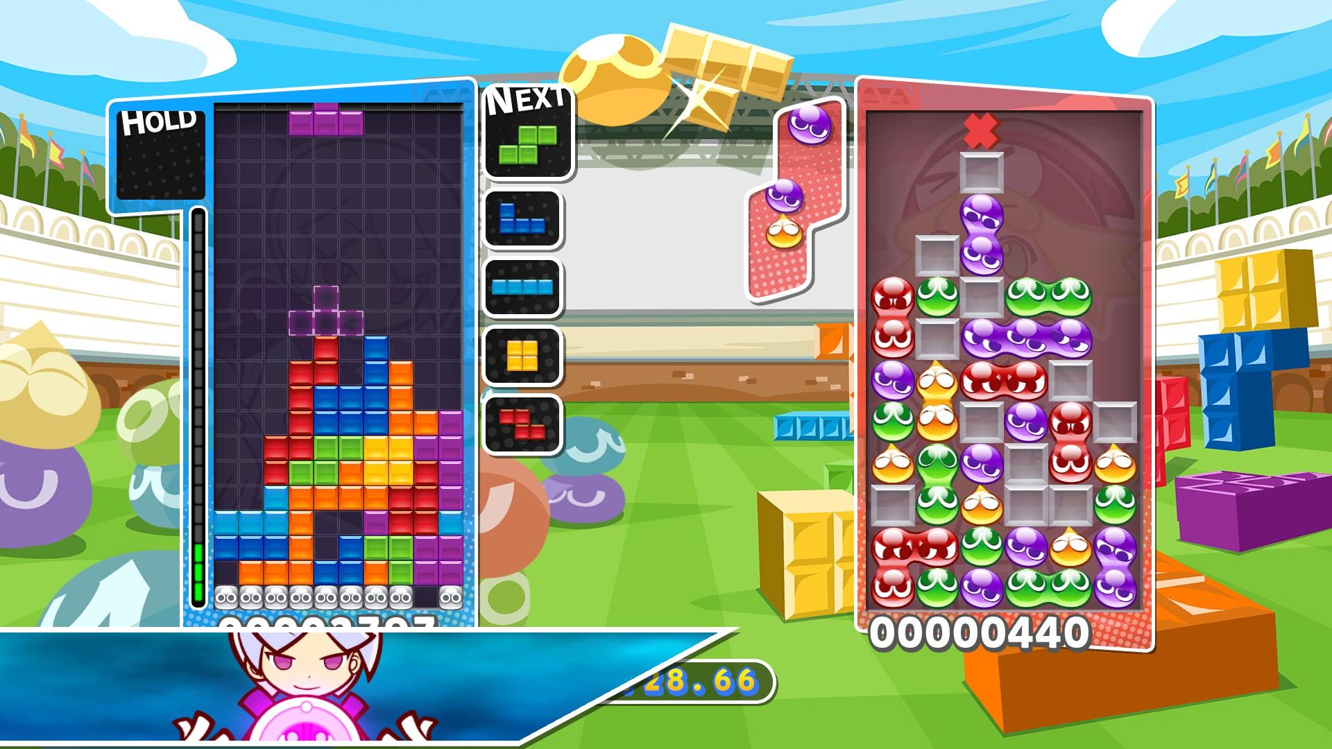 Image result for puyo puyo tetris
