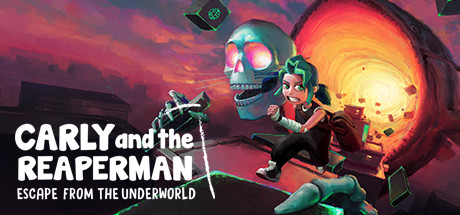 Carly and the Reaperman - Escape from the Underworld Cover Image