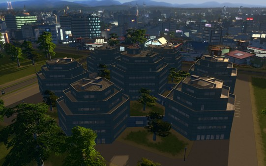 Скриншот №6 к Cities Skylines - Content Creator Pack High-Tech Buildings