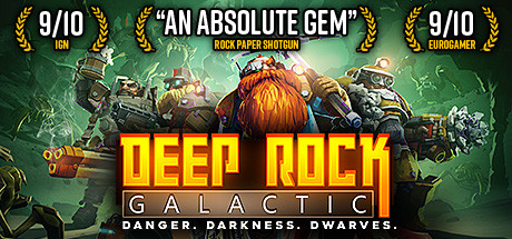 Deep Rock Galactic Cover Image