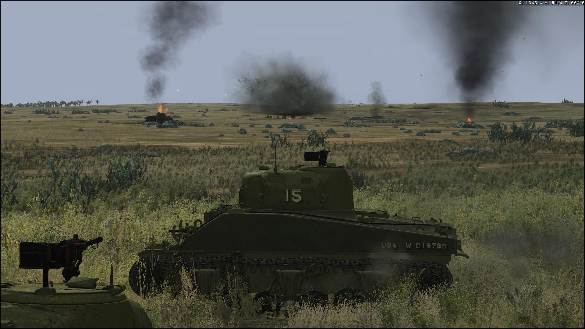 Tank Warfare Tunisia 1943 Screenshot 1