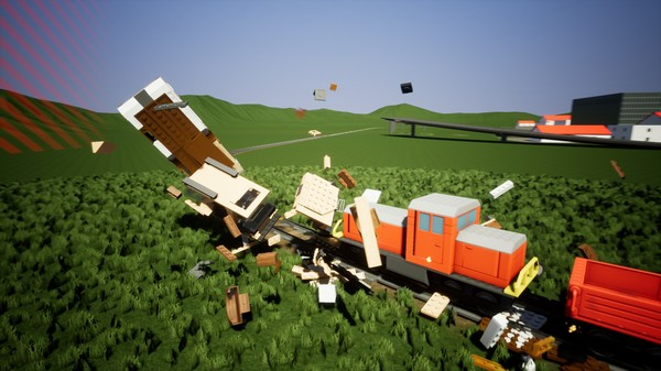 Screenshot of Brick Rigs