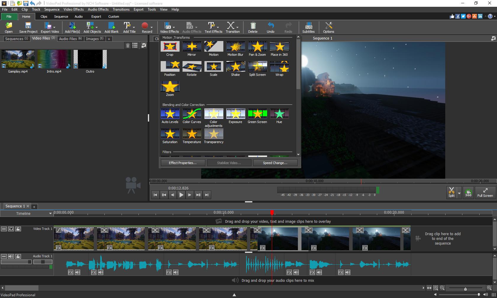 VideoPad Video Editor en Steam