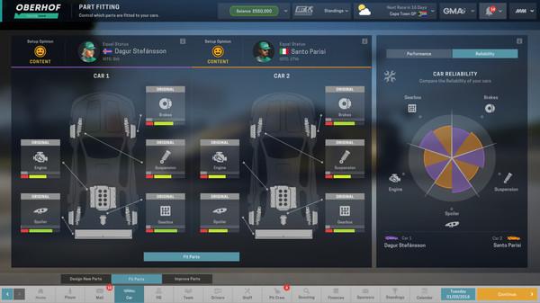 Скриншот №5 к Motorsport Manager - GT Series