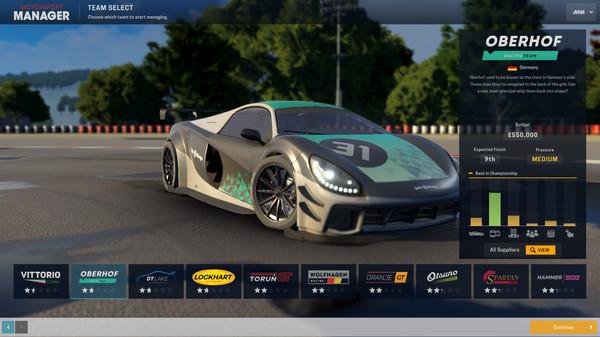 Скриншот №4 к Motorsport Manager - GT Series