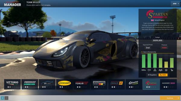 Скриншот №1 к Motorsport Manager - GT Series