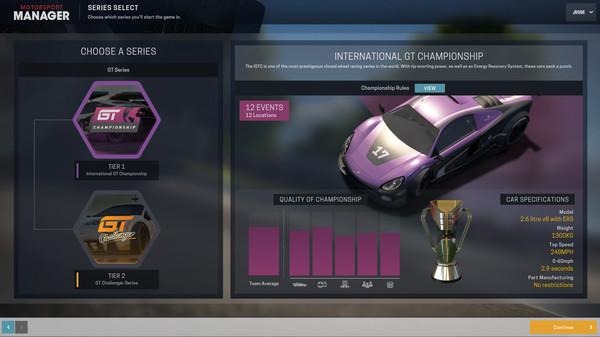 Скриншот №3 к Motorsport Manager - GT Series