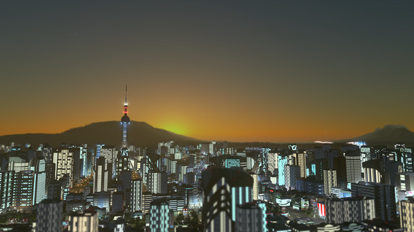 Скриншот №1 к Cities Skylines - Pearls From the East