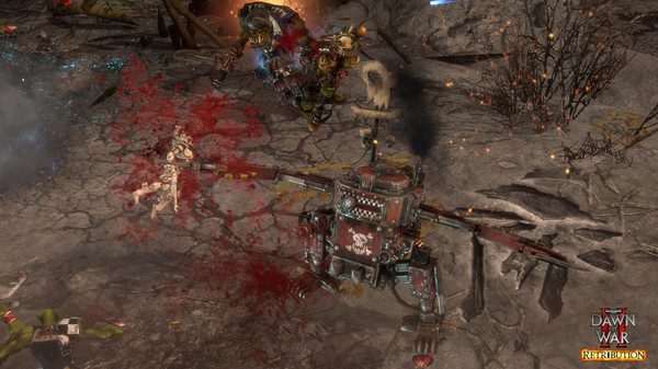 скриншот Warhammer 40,000: Dawn of War II: Retribution 4