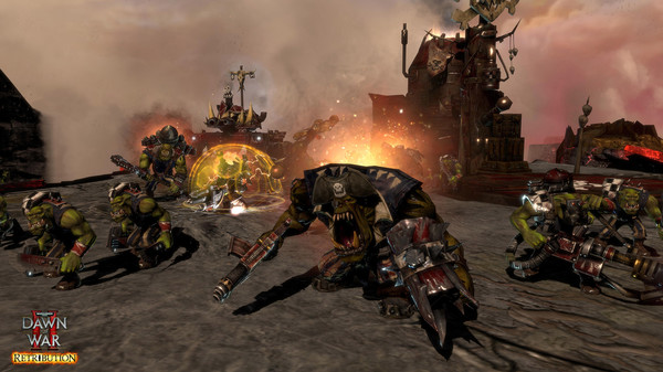 скриншот Warhammer 40,000: Dawn of War II: Retribution 1