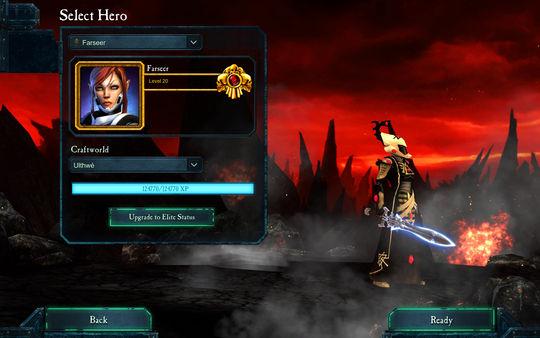 скриншот Warhammer 40,000: Dawn of War II: Retribution - Farseer Wargear DLC 0