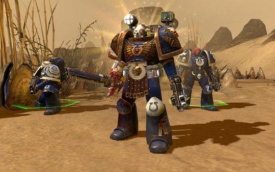 скриншот Warhammer 40,000: Dawn of War II Ultramarines Pack 0