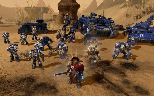 скриншот Warhammer 40,000: Dawn of War II Ultramarines Pack 3