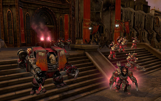 скриншот Warhammer 40,000: Dawn of War II: Retribution - Word Bearers Skin Pack 0