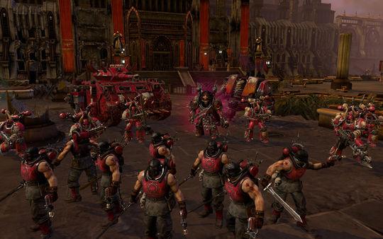 скриншот Warhammer 40,000: Dawn of War II: Retribution - Word Bearers Skin Pack 1