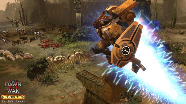 скриншот Warhammer 40,000: Dawn of War II: Retribution - Last Stand Tau Commander 3