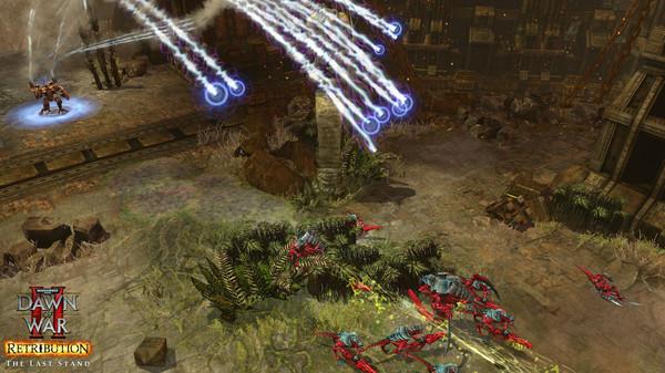 скриншот Warhammer 40,000: Dawn of War II: Retribution - Last Stand Tau Commander 4