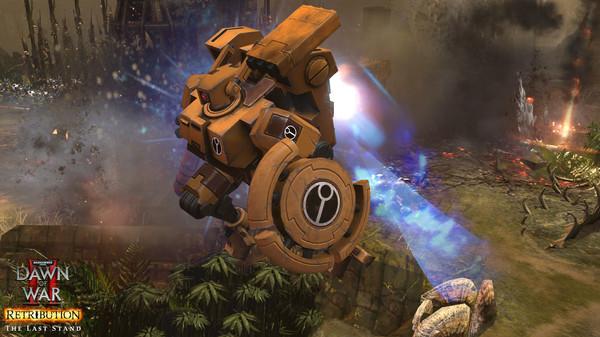 скриншот Warhammer 40,000: Dawn of War II: Retribution - Last Stand Tau Commander 2