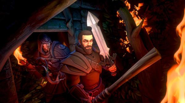 Скриншот №1 к VR Dungeon Knight