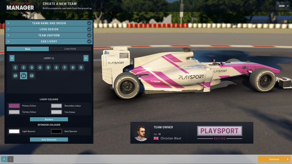 Скриншот №5 к Motorsport Manager - Create Your Own Team
