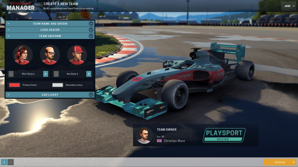 Скриншот №2 к Motorsport Manager - Create Your Own Team