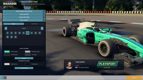 Скриншот №3 к Motorsport Manager - Create Your Own Team
