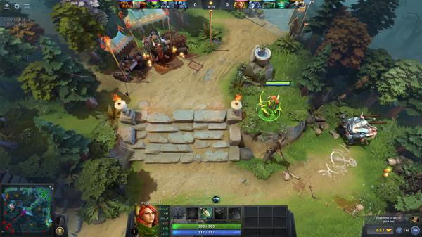 Dota 2 screenshot