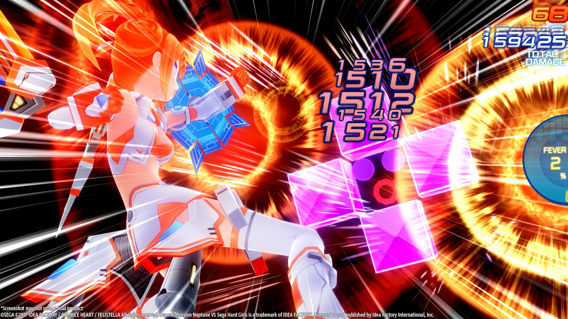 Superdimension Neptune VS Sega Hard Girls Screenshot 3