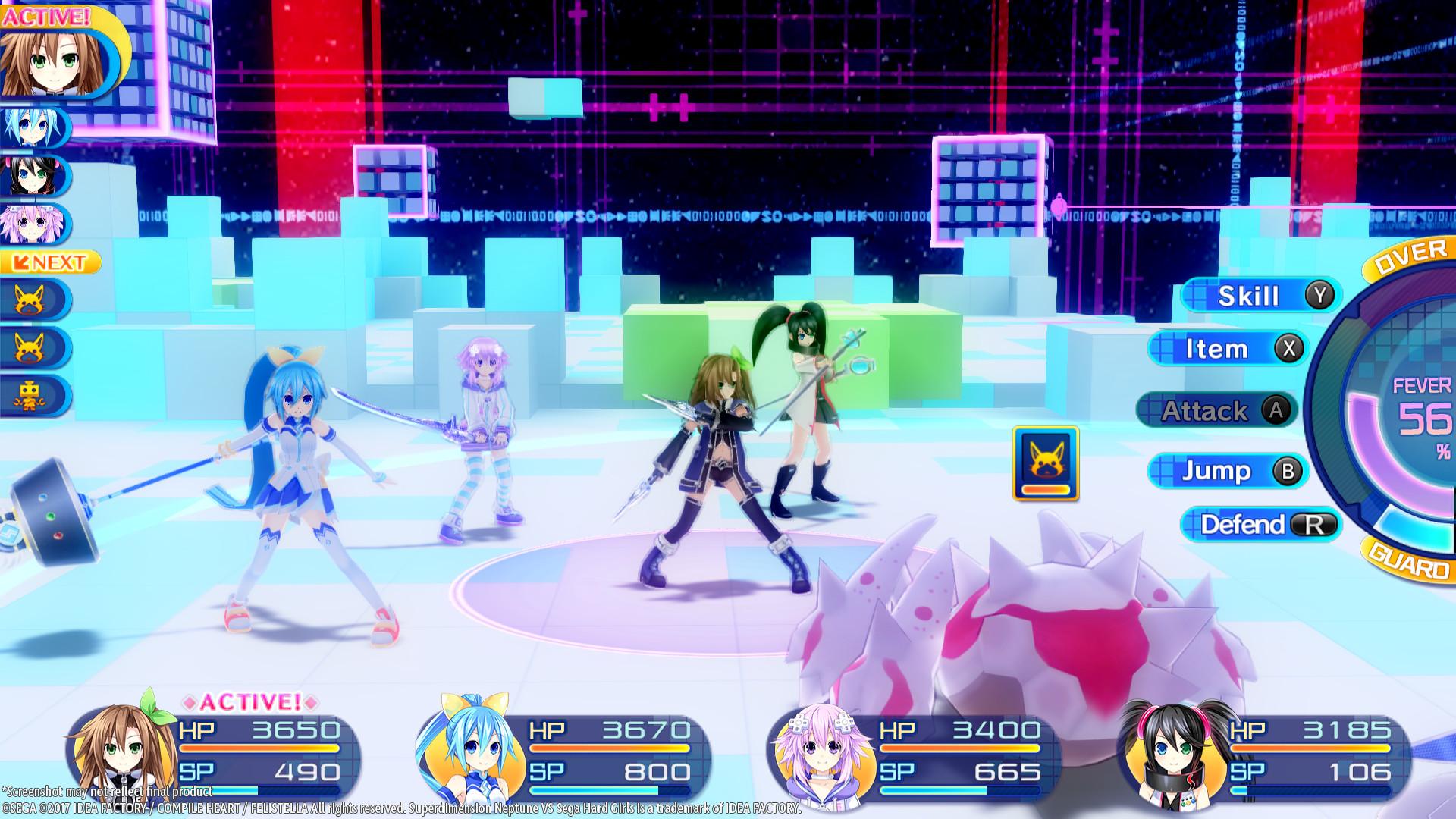 Superdimension Neptune VS Sega Hard Girls Screenshot 2
